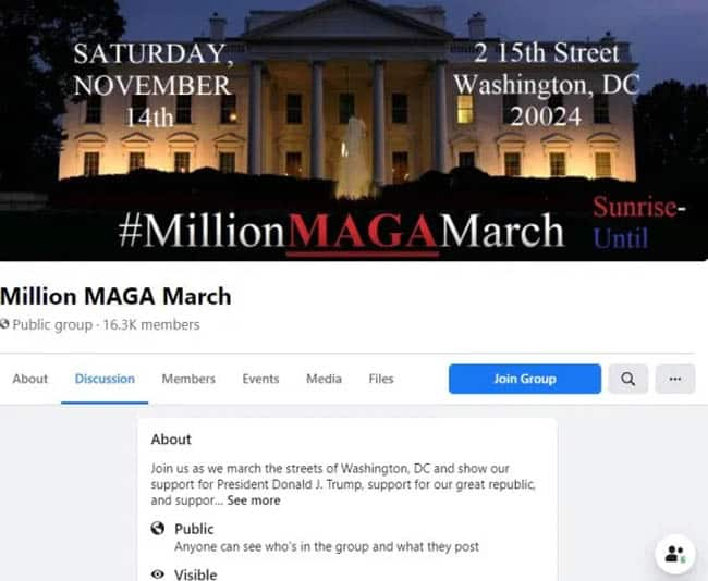 The largest Facebook group has only 16,000 members but is growing daily