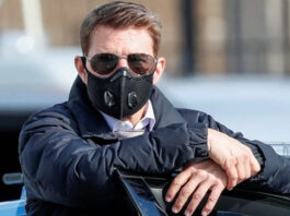 Tom Cruise slams Mission Impossible crew in London over COVID safety