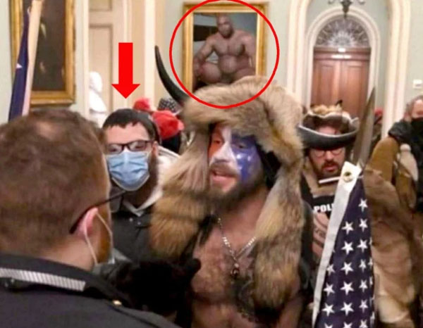 The doctored photo made its way into official FBI documents.