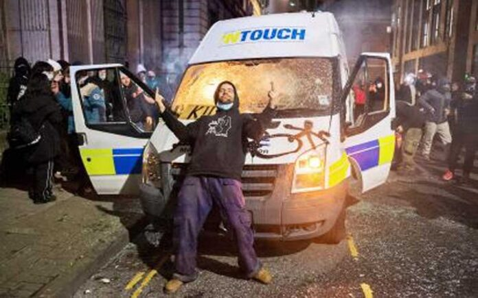 Bristol riots: 500 people involved in criminality during last night's events