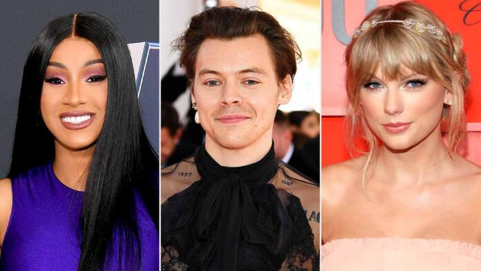 Grammys Awards 2021: Taylor Swift, Cardi B, Harry Styles, Billie & More to Perform
