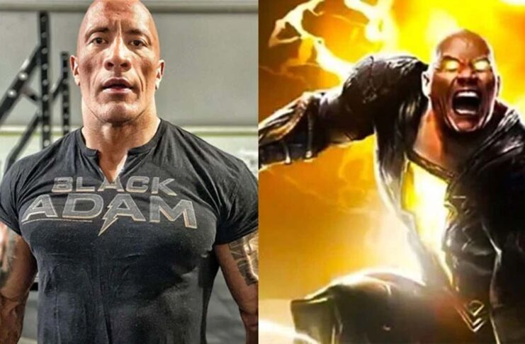 Dwayne Johnson, The Rock, kick-starts filming of Black Adam
