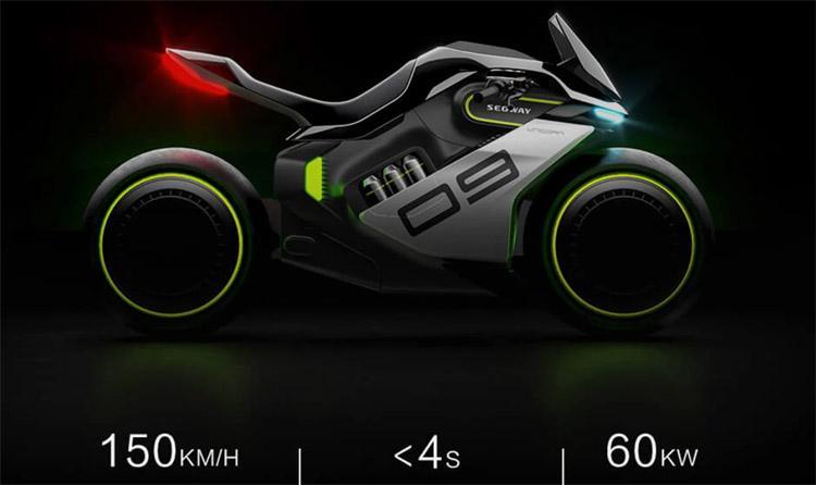 Segway Hybrid Sports Motorcycle