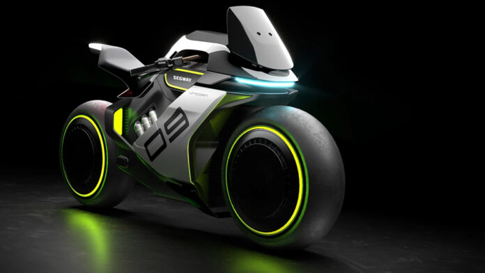 Segway Is Making a Hybrid Sports Motorcycle Worthy of All Your Tron Fantasies