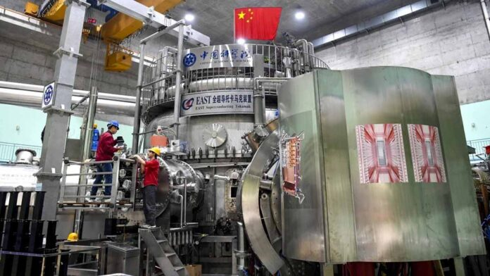 Chinese artificial sun hits new mark in fusion energy mission