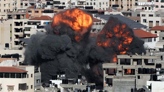 gaza attacked