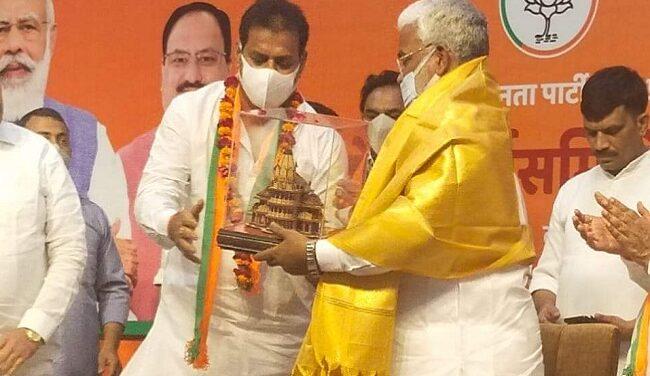 बसपा के पूर्व विधायक जितेंद्र सिंह बबलू भाजपा में शामिल