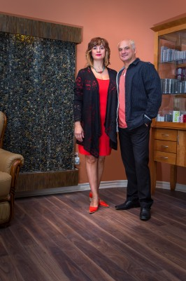 Plamen and Vessela- founders of the Lorne Park and Salon