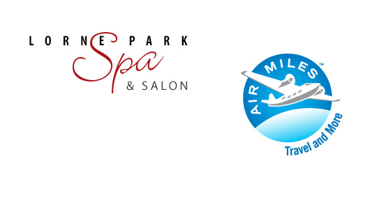 Collect AIR MILES® reward miles at Lorne Park Spa and Salon