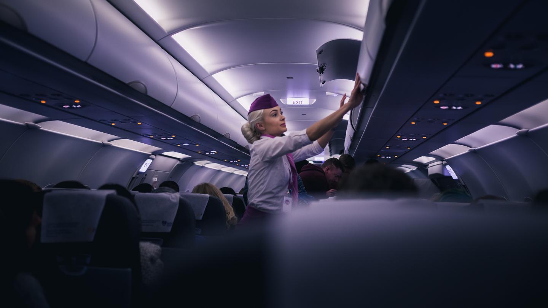 Mid flight from Boston Logan to Kavlavík on WOW airlines.