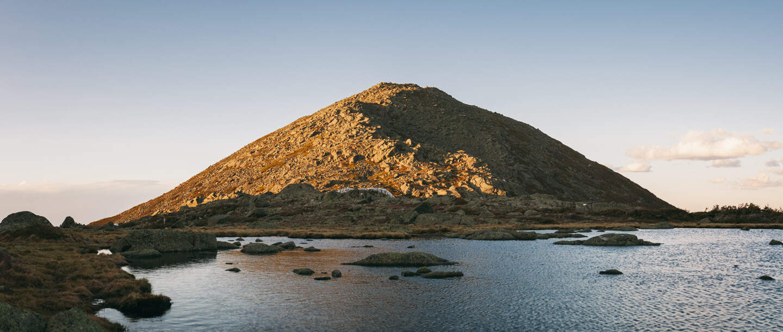 Star Lake below Mount Madison