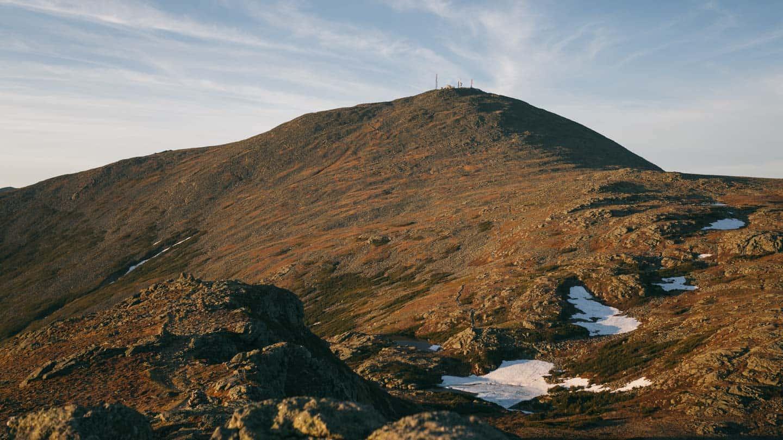 Mount Washington viewed from Mount Monroe