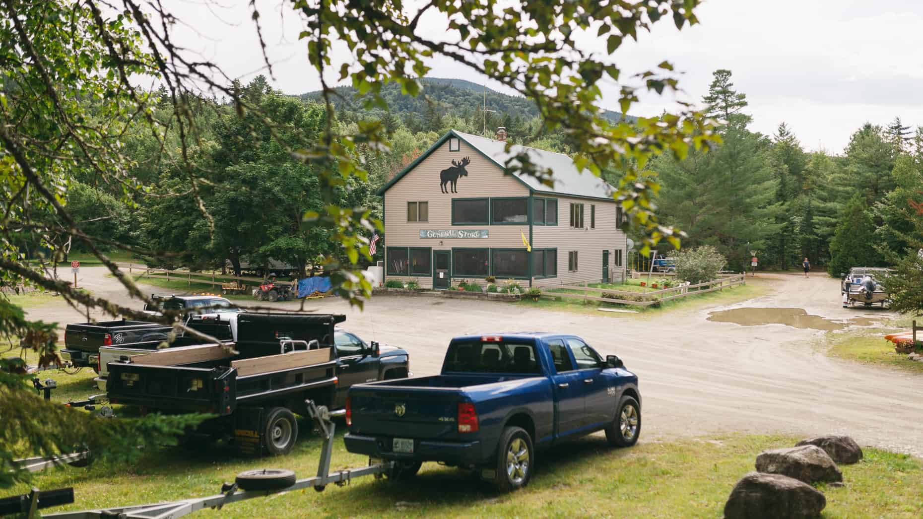 Black Brook Campground general store