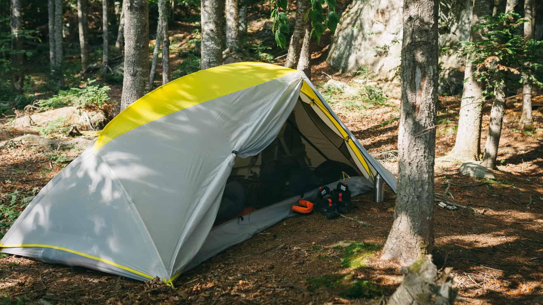 LL Bean Microlight tent.
