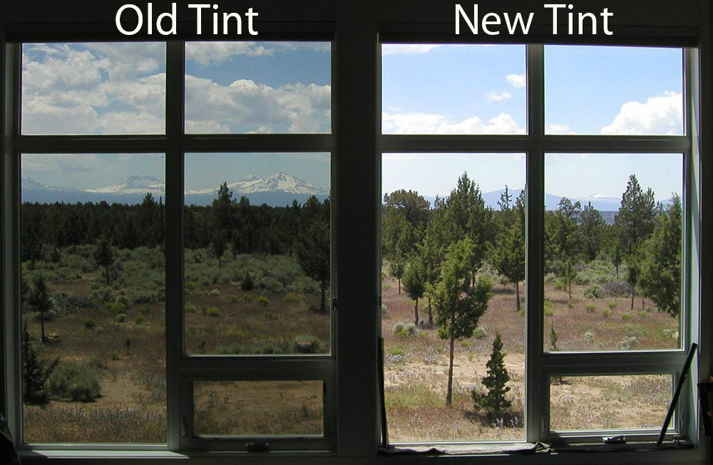 Old and New Window Tint Comparison