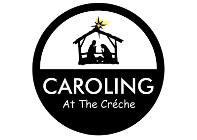 Caroling at the Creche