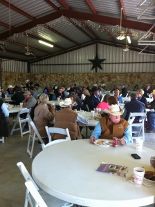 Texas Brangus Breeders gather for the annual membership meeting and social before the sale.