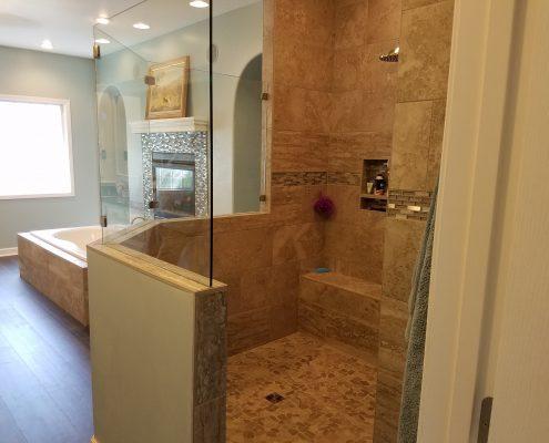 Whitty Bathroom Remodel Shower
