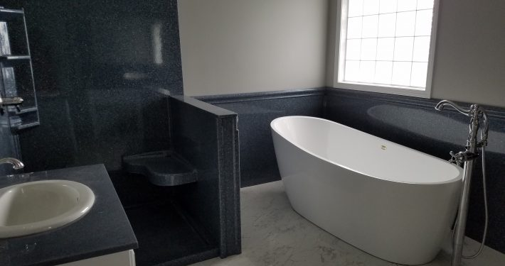 Hicks Bathroom Remodel soaker tub