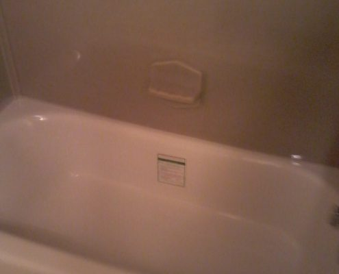Wolfe Onyx tub and shower surround