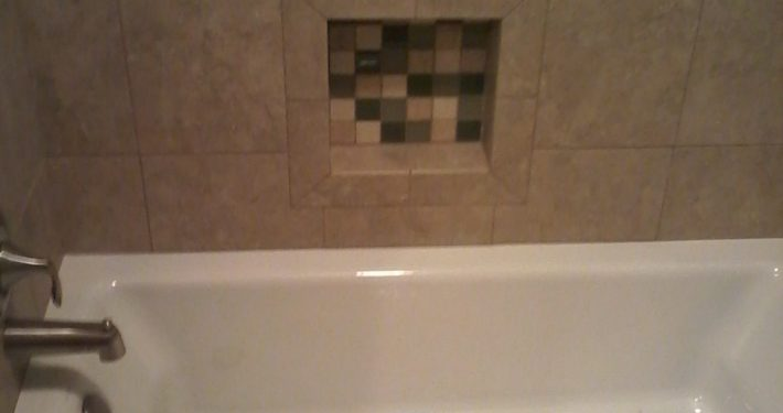 Hamilton Bath tile bath surround