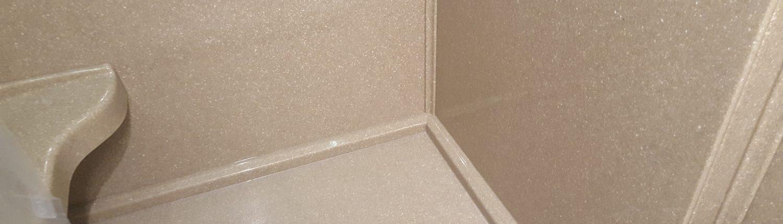 Brown Basement Onyx Shower Base