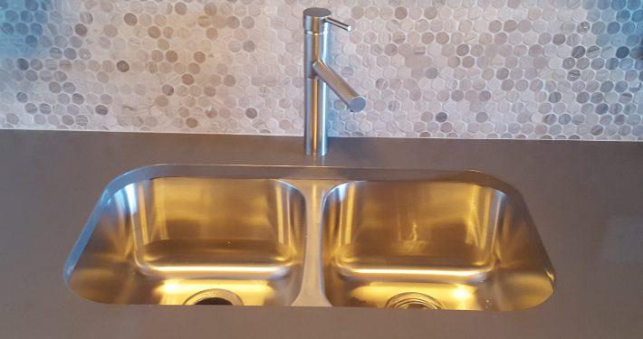Francis Loft Remodel countertop sink