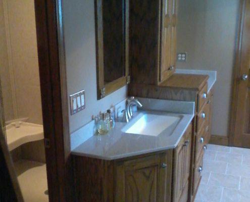 Schnieder Shower Onyx Bathroom