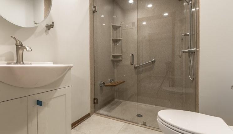 Davis bathroom safety seating and grab bars
