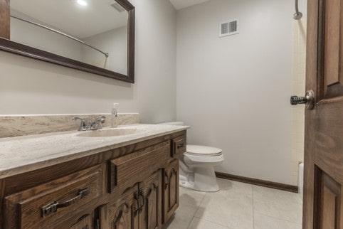Davis hall bathroom remodel onyx vanity top