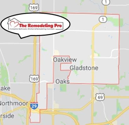 Gladstone Remodeling Map