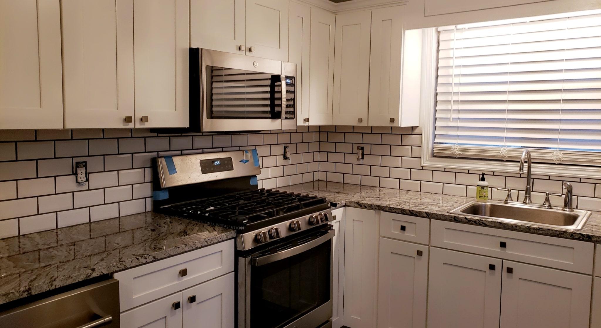 Brown Kitchen Remodel Complete 12