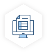 manufacturing industry trend datasheet icon
