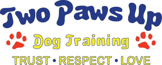 2 Paws Up Dog Training Logo_2015