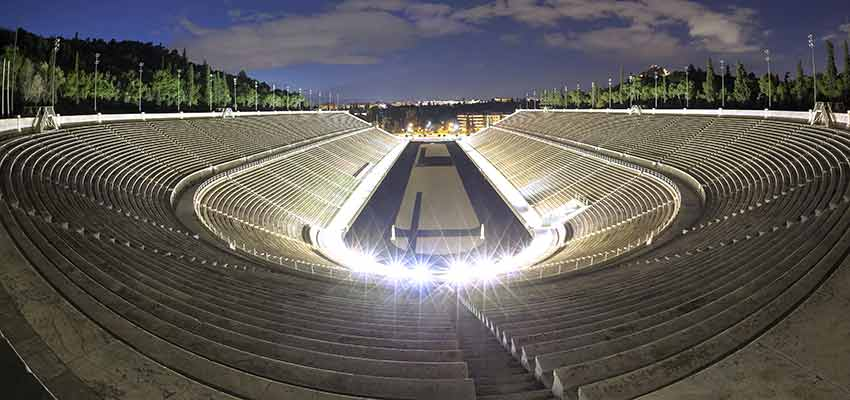 The all marble Panathenaic stadium