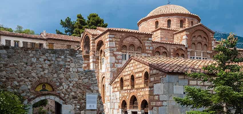 The monastery of Hosios Loukas