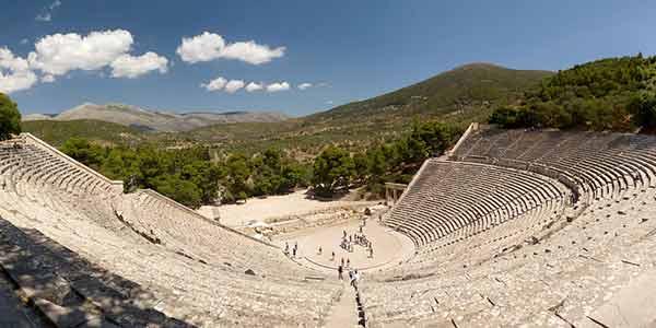 The ancient theater of Epidavros