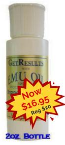 Emu Oil on Sale for 16.95