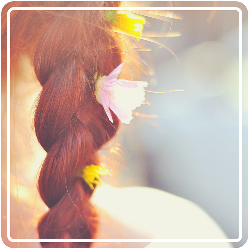 A braid of red hair