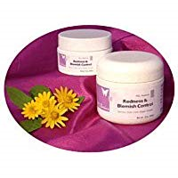 Display of Redness and Blemish Control Jars