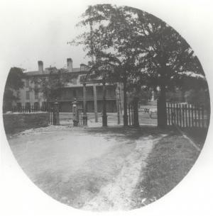 Historical image of UGA Arch