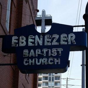 Ebenezer Baptist Church Signage