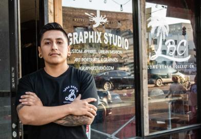 'Living the American dream': Meet John Ramirez, owner of J Graphix Studios