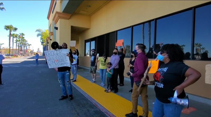Community organizers boycott Kroger in Marina Pacifica