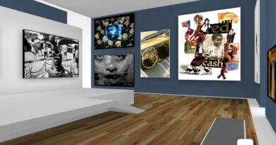 OceanOrgLB: How to create your own virtual art gallery