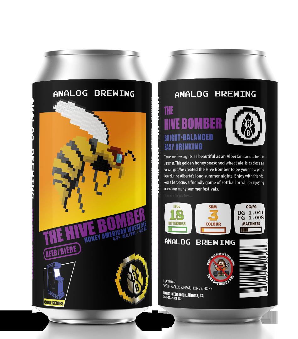 Analog Beer Hive Bomber