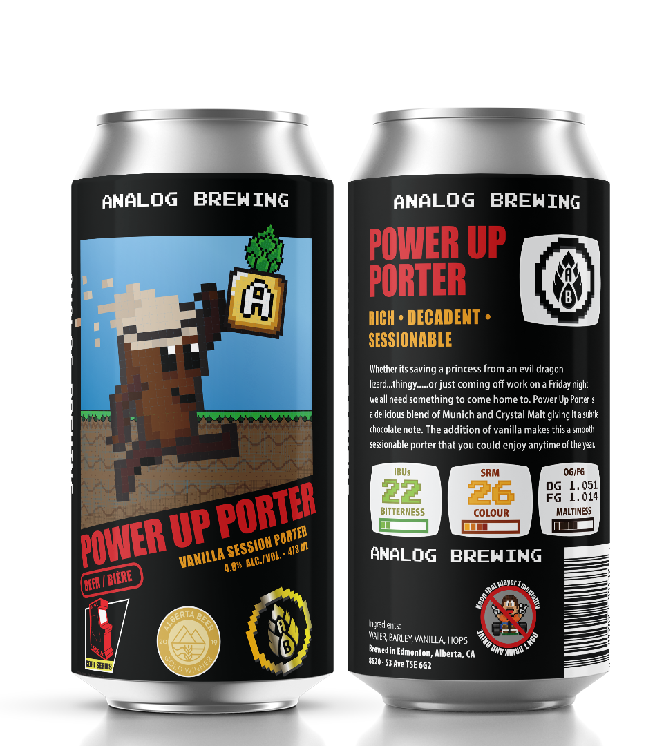 Analog Power Up Porter