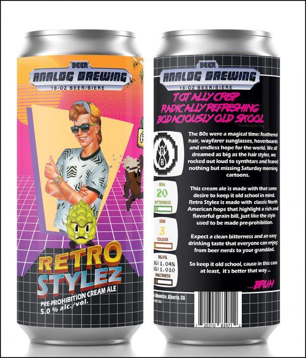 Retro Styles-Cream Ale