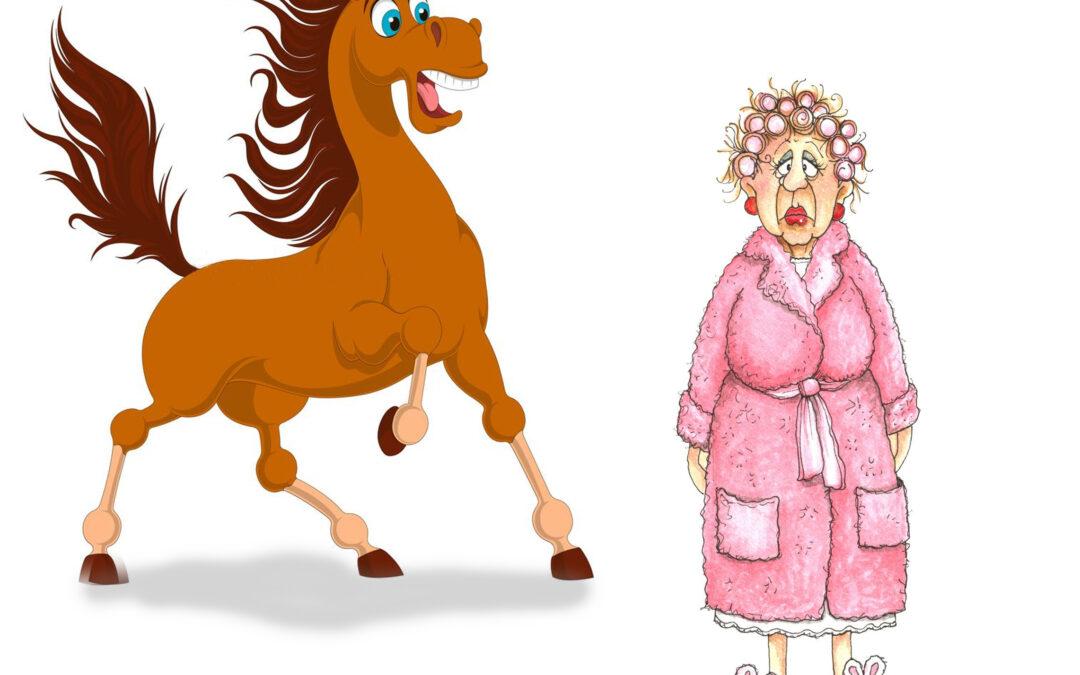 The Dreaded, Horse-Eating, Bathrobe Monster