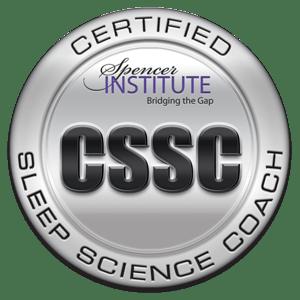 certified sleep science coach badge